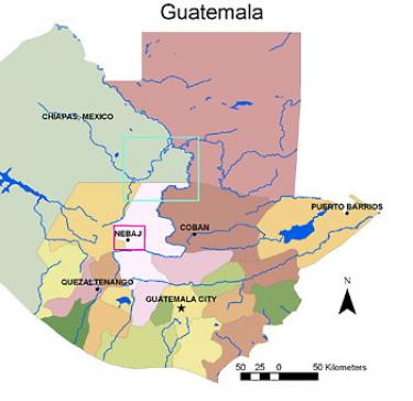 Guatemala base map