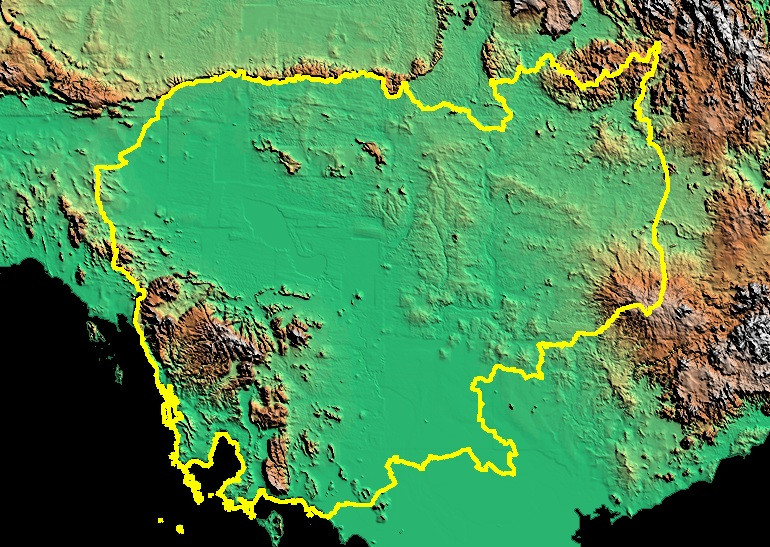 Maps Satellite Images Genocide Studies Program - Digital satellite map
