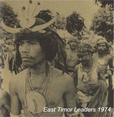East Timor Leaders, 1974
